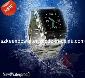 Waterproof Watch Mobile Phone Stainless Steel Camera pictures & photos