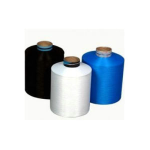 Lycra Covered Polyester DTY Yarn (75D+40d) for Jeans