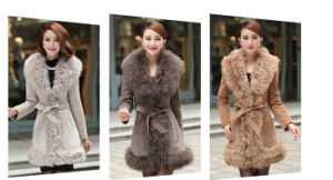 Top Quality Retail /Wholesale Real Lamb Fur Coat Qy-Qx44