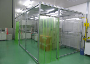 Clean Booth with Anti Static Curtain
