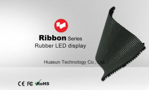 Ribbon Flexible LED Tiles Rubber Soft LED Screen