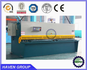 Hydraulic Swing Beam Shearing and Cutting Machine QC12y-10X2500 pictures & photos