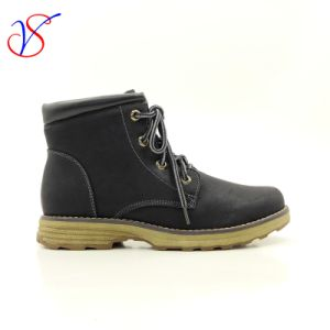 Three Color Women Safety Working Work Shoes Boots (Sv-Wk-010-Blk)