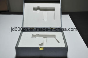 Good Quality Customized Luxury Rigid Cardboard Gift Box with Metal Lock and EVA Insert pictures & photos
