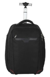 Simple Style Backpack with Double Shoulder Strap Trolley Backpack (ST7135) pictures & photos