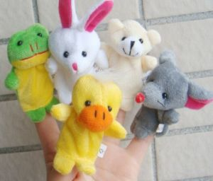 Animal Finger Puppet Plush Toys Child Baby Favor Dolls