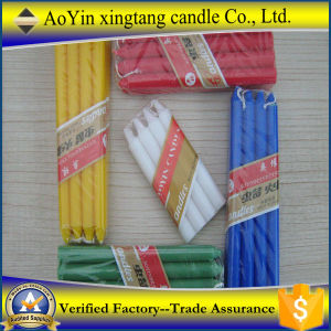 10g-100g Smokeless Wax Colored Candle/Color Stick Candle for Dinner pictures & photos