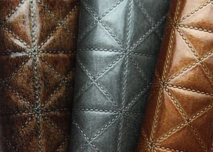 Embossed PU Leather for Bag and Shoe (tg033) pictures & photos