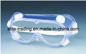 PVC Protective Safety Goggles Industrial Safety Protection with Four Holes