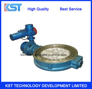 Flanged Bi-Direction Triple Eccentric Butterfly Valve with Eletrci Actuator