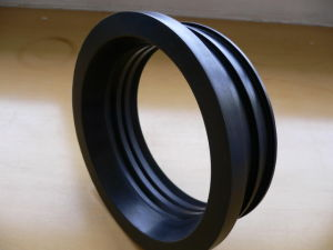 Customized High Temperature and Oil Resistant Fluororubber Seal Gasket
