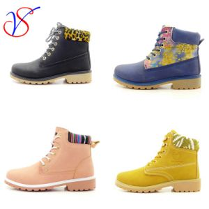 Injection Parent-Child Man Women Children Safety Working Work Safety Ankle Boots Shoes (Size: 24- 45)