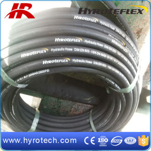 Rubber High Pressure Hydraulic Hose Pipe SAE 100r1 at En853 1sn pictures & photos