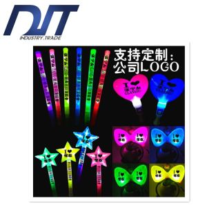 Christmas Rainbow LED Large Size Colorful Electronic Flash Light Sticks