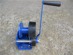 Hand Crank Cable Winch 1000b with Automatic Brake