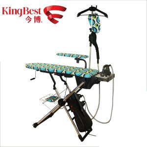 Household Foldable Ironing Board with Cloth Rack (KB-1980C) pictures & photos