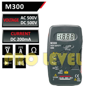 2000 Counts LCD Display Pocket Digital Multimeter (M300) pictures & photos
