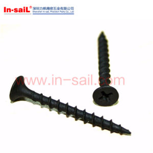 Oval Cross-Slotted Head Self Tapping Screws pictures & photos