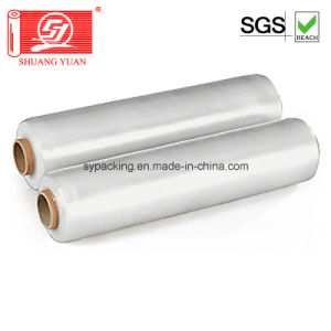 Cast Stretch Film of 100% Virgin Material LLDPE for Wrap Pallet pictures & photos