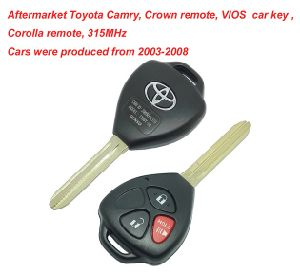 Car Remote Key >> 315mhz Car Remote Key For Vios Corolla Remote Control Is From 2003 To 2008 For Toyota