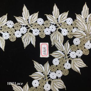 11.5cm Cotton Lace Fabric, Gorgeous Lace Fabric, Best Seller Hot Selling, Retro Style Lace Fabric Hme868 pictures & photos