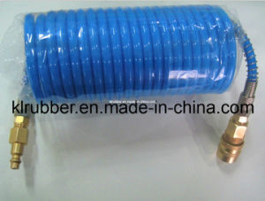 High Quality PU Coil Hose with Quick Coupler pictures & photos