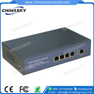 4 Ports Full Gigabit Poe Switch with 1 Gigabit Uplink (POE0410B-3) pictures & photos