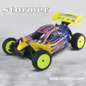 1: 10th Scale 4WD Nitro off Road Buggy - Single Speed (GB-10105)