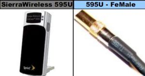 Ssmb Connector for Sierra Wireless 595u Connector