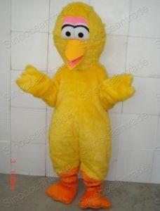 Sesame Street Big Yellow Bird Mascot Costume (Long Hair) & China Sesame Street Big Yellow Bird Mascot Costume (Long Hair ...