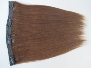 European Straight Human Remy Hair Clip in Extensions Hhci-16 pictures & photos