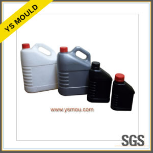 Lubricating Oil Bottle and Lengthen Cap Plastic Mould pictures & photos