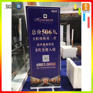 Portable Display Rack Pull up Banner Stand pictures & photos