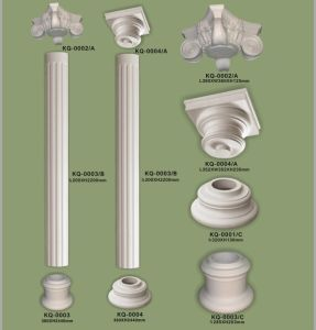 Balustrade Railing PU Decorative Columns Pillars for Construction pictures & photos