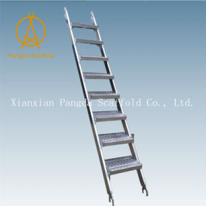 Steel Step Ladders U0026 Stairs Of Scaffold For Construction