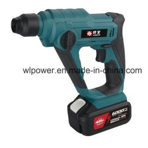 20V Cordless Rotary Hammer Lithium Power Tool pictures & photos