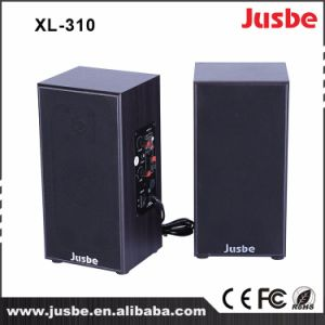 2.0 Active Wooden Wholesale Speaker 20/40/60/80/100W OEM Service pictures & photos