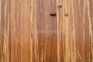 Wear-Resisting Tiger Grain Strand Woven Engineered HDF Core Bamboo Flooring pictures & photos