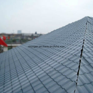 Strong Fire Resistance Red Anti UV Sythetic Resin Tiles with Ce Certificate pictures & photos