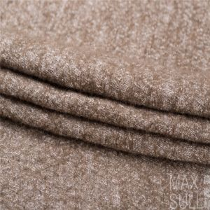 Wool /Cotton Fabric for Autumn/Winter in Khaki