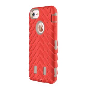 Mobile Phone China Red Anti Defense Tire Style Protector Case Cover for iPhone 7 Plus 4.7 5.5 pictures & photos
