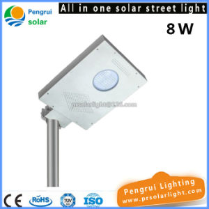 LED Motion Sensor Solar Street Light with Lithium Battery