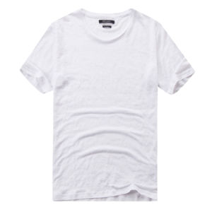China Import T Shirts White Plain T-Shirts in Bulk pictures & photos
