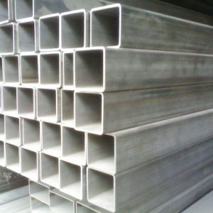 TP304/Tp316L Stainless Steel Seamless Rectangular Pipe for Construction
