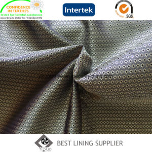 55% Polyester 45% Viscose Mini-Jacquard Lining Fabric for Fashion Suit and Jacket pictures & photos