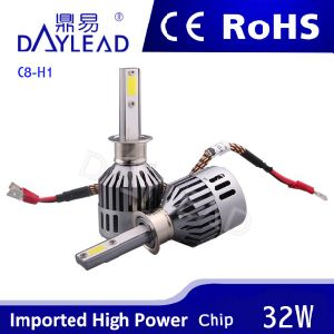 2800lm 32W High Brightness LED Headlight with COB Chip