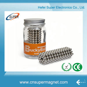 High Quality 5mm Neodymium Magnet Spheres Magnetic Ball pictures & photos