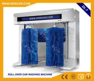Dericen Dl7 Rollover Automatic Car Wash Equipment with Tire Wash Brushes