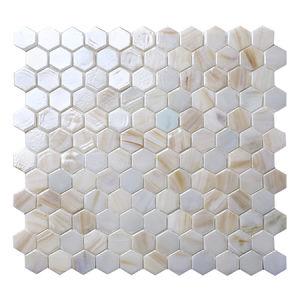 2017 new hotel bathroom wall decoration swimming pool glass mosaic tiles
