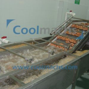 Shrimp Quick Freezing Production Line/Shrimp IQF Freezing Line pictures & photos